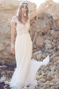 Vestido novia Anna Campbell Coco