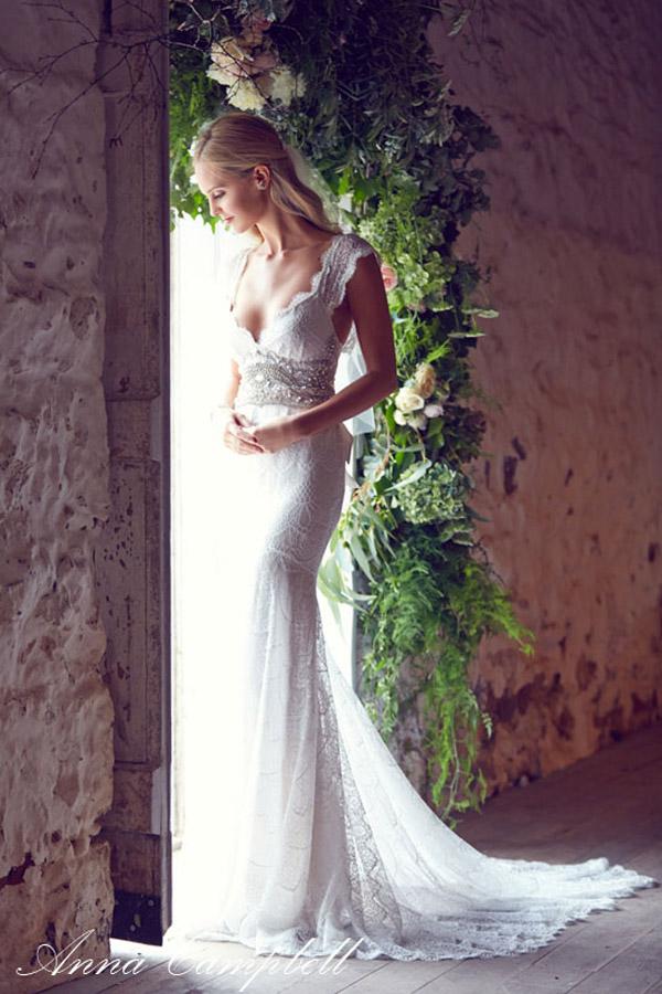 Vestido novia Anna Campbell Harper