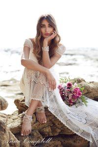 Vestido novia Anna Campbell Lilly