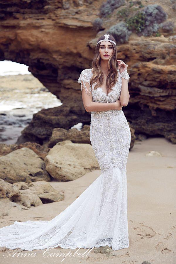Vestido novia Anna Campbell Sierra