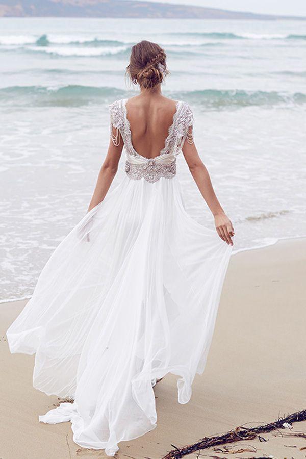 anna campbell vestidos de novia | blanco de novia