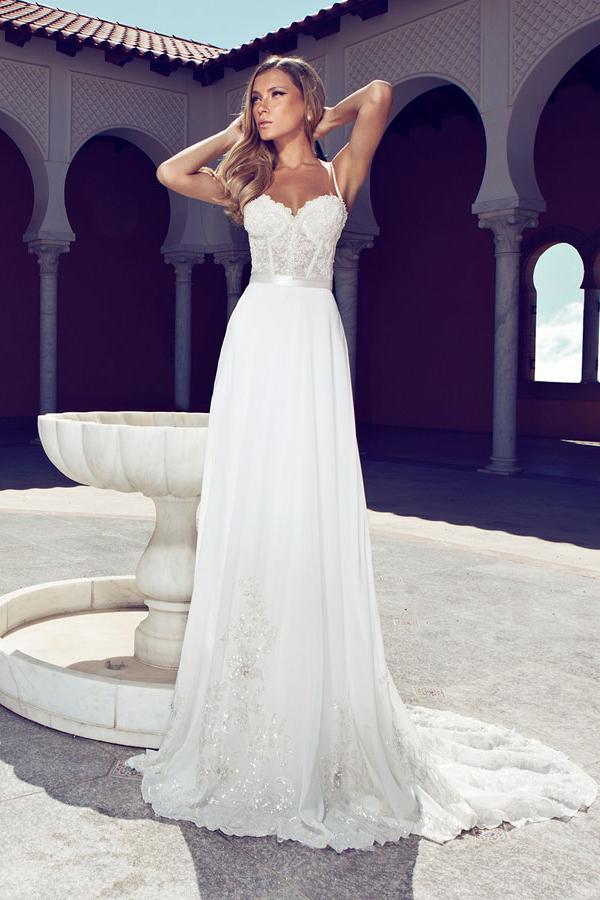 Vestido Novia Julie Vino 603-1