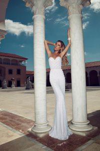 Vestido Novia Julie Vino 612-1