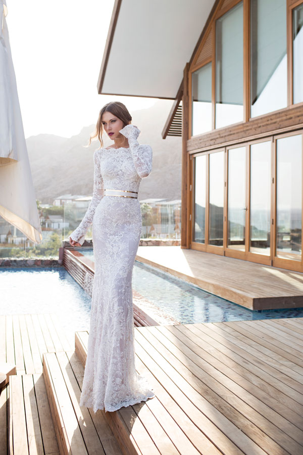 Vestido Novia Julie Vino Cindie 603-1