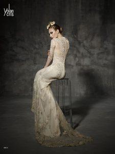Vestido Novia Yolancris Bruc