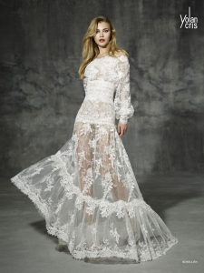 Vestido Novia Yolancris Rosellon