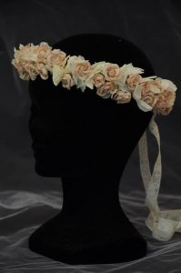 Corona flores de novia en Madrid
