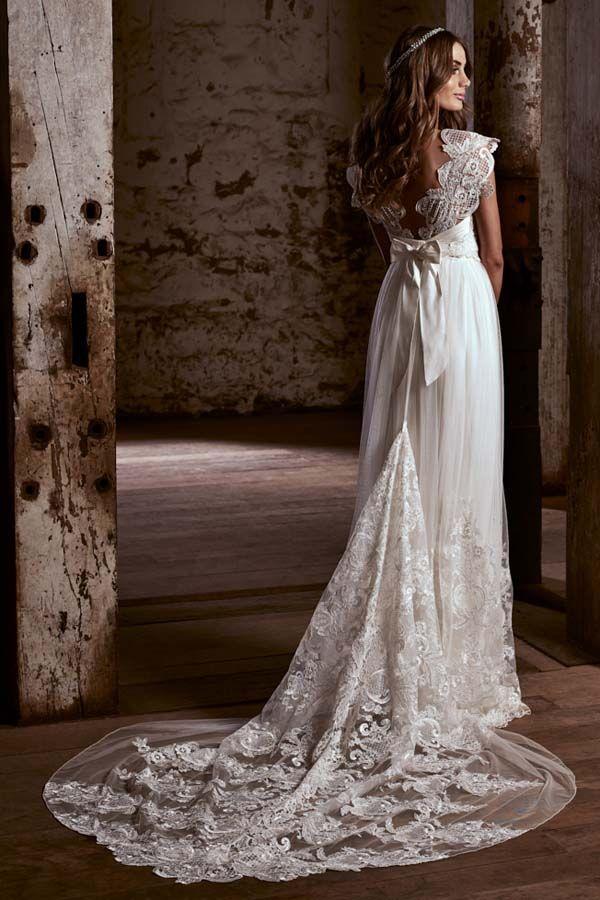 Vestido novia Anna Campbell Savannah
