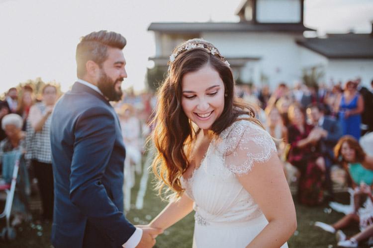 María y David. La boda del viento