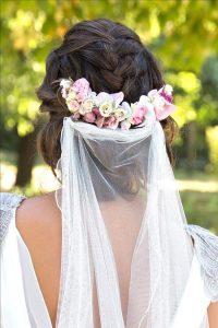 Velo de novia Blanco de Novia