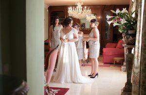 Moulin Rouge Wedding. Blanco de novia
