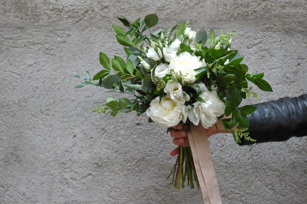 Peonías para tu boda   Blanco de Novia