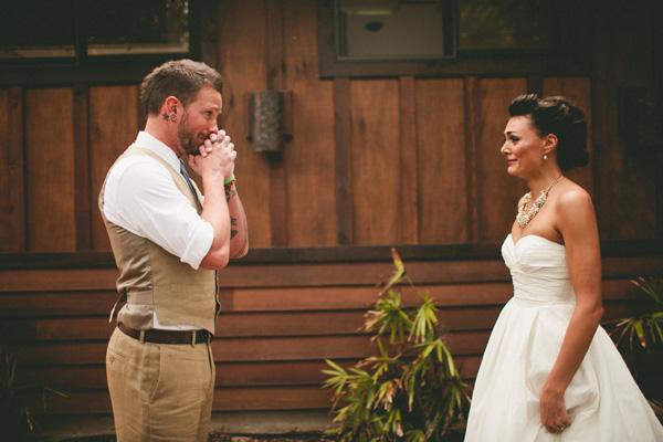 ¿Por qué el novio no puede ver a la novia hasta la ceremonia?