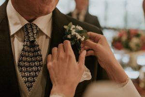Prendido Arbolande Blanco de novia