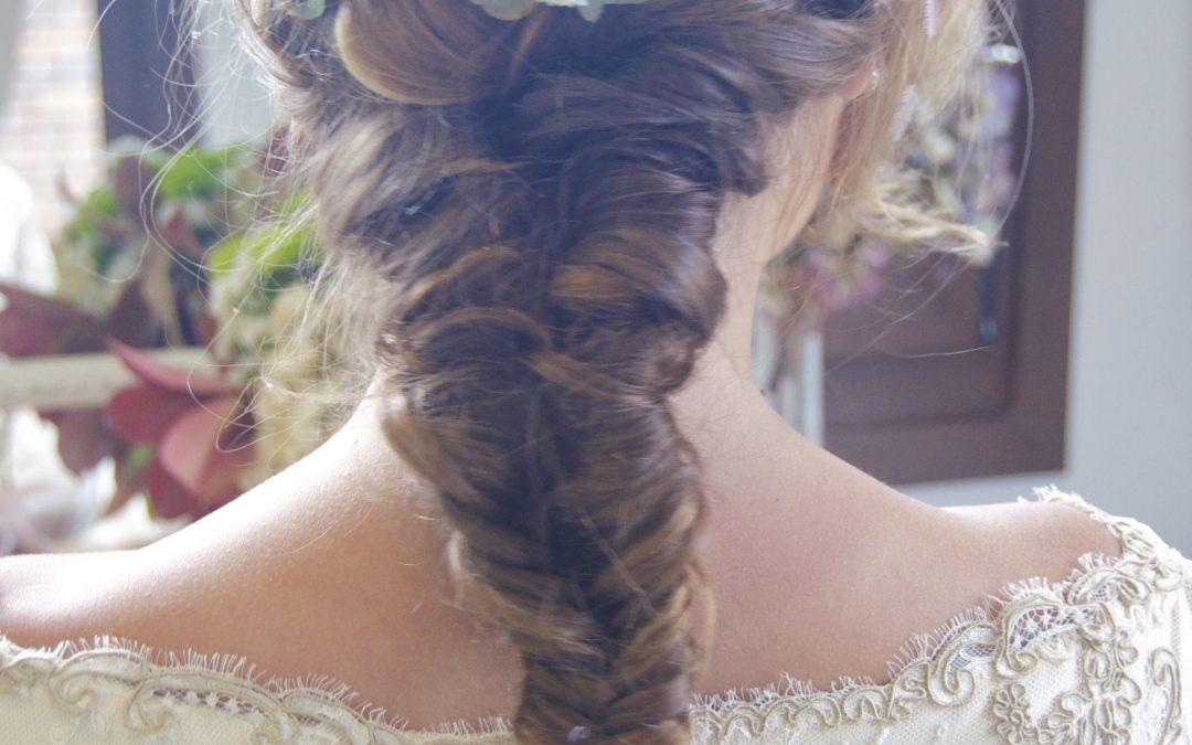 Peinado de novia Madrid