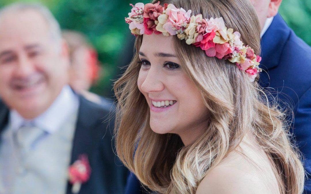 Tocados de flores preservadas para tu boda