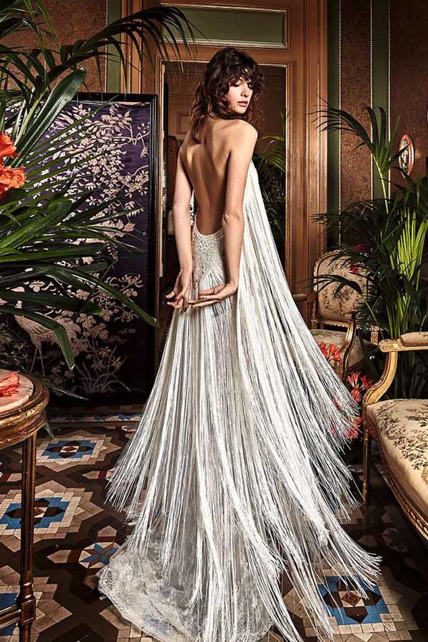 Vestido de novia Yolancris en Madrid