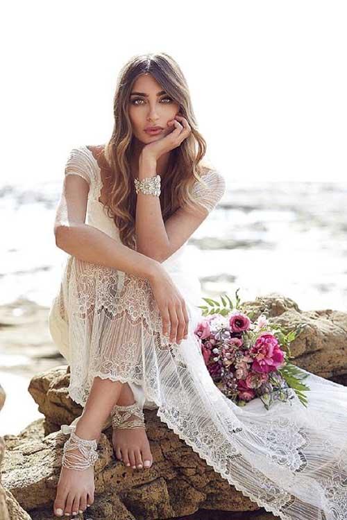 vestidos de novia boho chic | blanco de novia