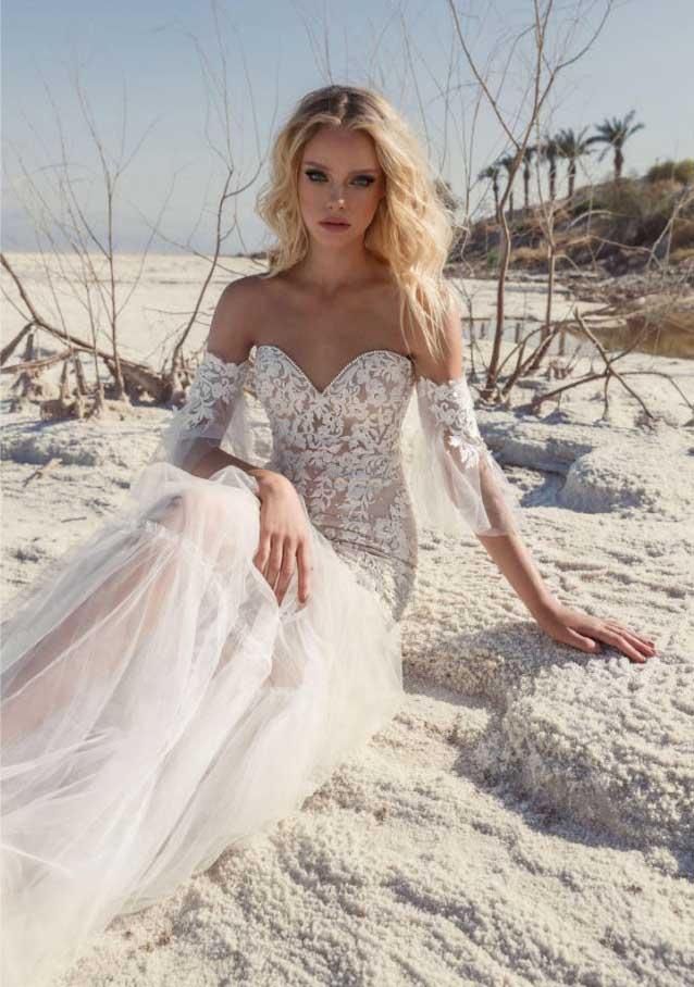 Adi Shlomo vestido de novia