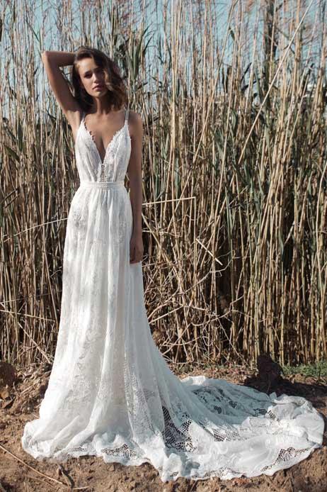 vestido de novia flora bridal