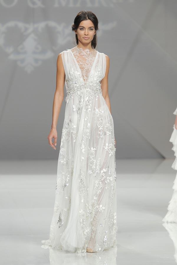Marco y Maria vestidos de novia
