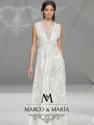 Vestidos de novia Marco y María