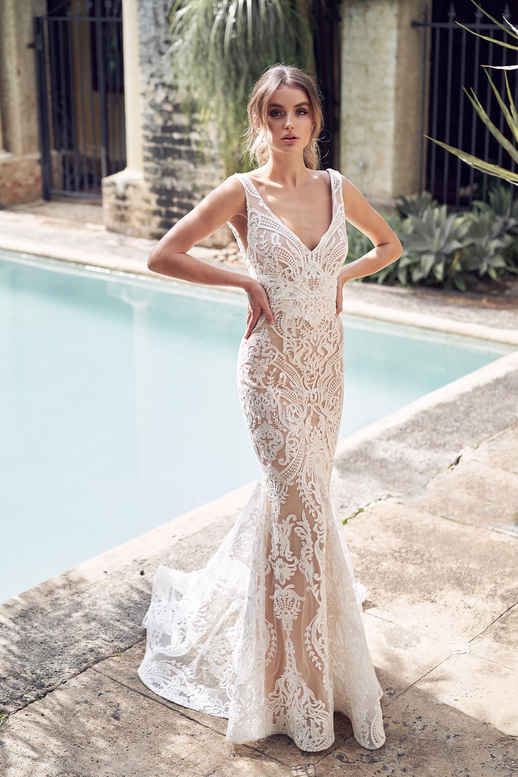 87ded17dc Anna Campbell vestidos de novia | Blanco de Novia